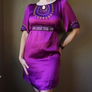 PHOEBE COUTURE Silk Dress
